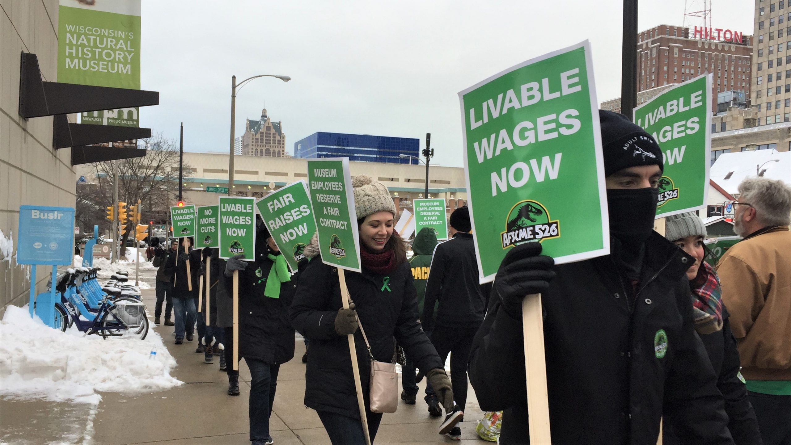 AFSCME Council 32 members demand better working conditions